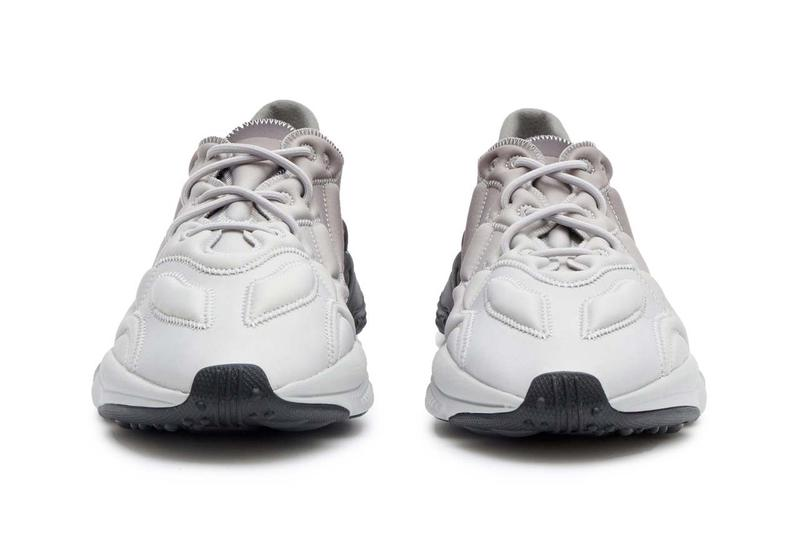adidas ozweego 3d gradient neoprene trainers grey sneakers