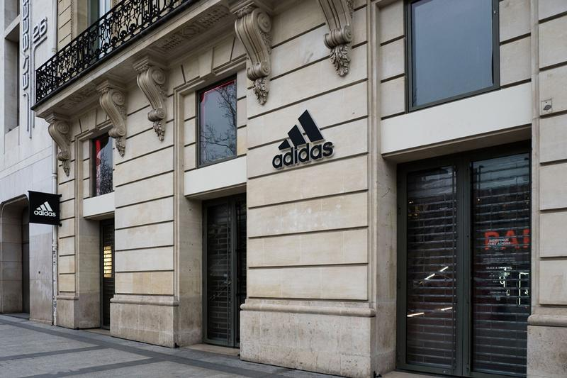 adidas €1 Billion EUR State Aid Loan Request Store Front Closed