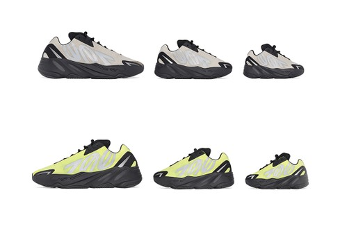 "adidas Officially Announces YEEZY BOOST 700 MNVN ""Phosphor"" & ""Bone"""