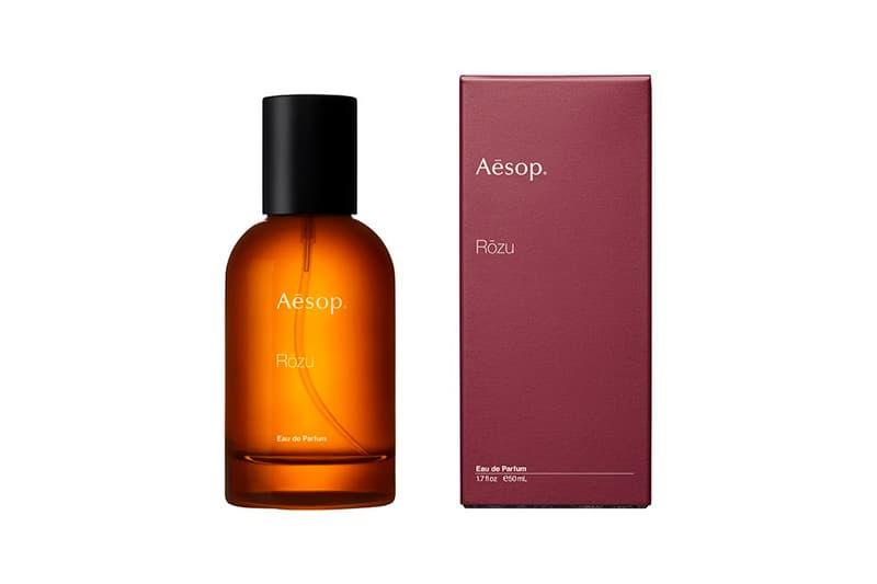 Aesop Rōzu Eau de Parfum Release Info Fragrance Buy Price