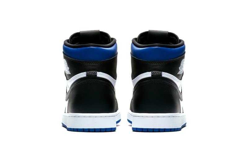 Air Jordan 1 Retro High OG Game Royal Official Look Release Info 555088-041 Blue White Black
