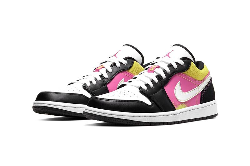 air jordan 1 low se black active fuchsia cyber white CW5564 001 release date info photos price