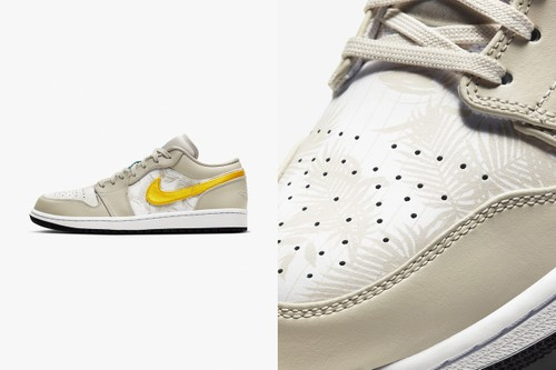 """Air Jordan 1 Low """"Palm Tree"""" Is Ready for Summer Vacation"""