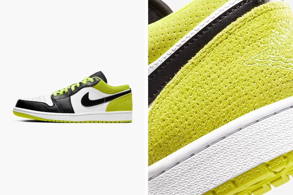 Air Jordan 1 Low Se Suede Green Release Hypebeast