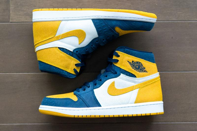 Air Jordan 1 Michigan Wolverines Pe Detailed Photos Hypebeast