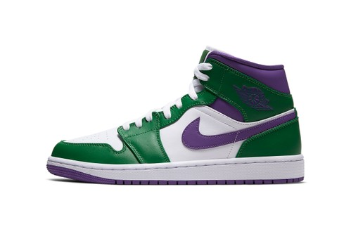 "Air Jordan 1 Mid ""Incredible Hulk"" Gets Angry"