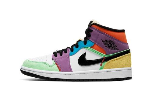 "Air Jordan 1 Mid SE ""Multicolor"" Provides Spirited Spring Style"