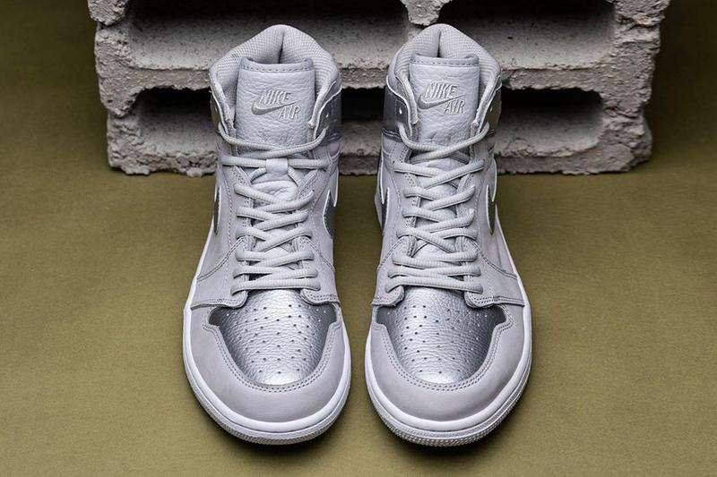 Air Jordan 1 Retro High Og Japan Grey Closer Look Hypebeast