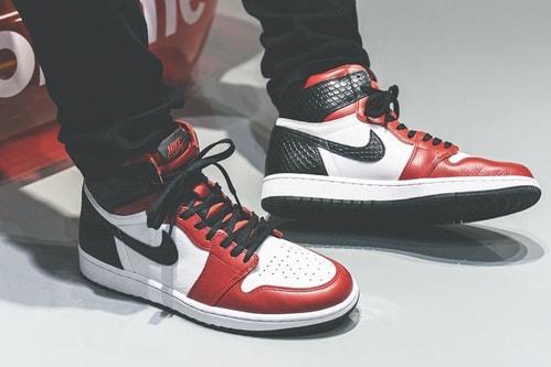 "First Look At the Air Jordan 1 Retro High OG ""Satin Snake"""