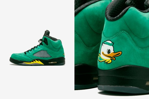 """The Air Jordan 5 SE """"Oregon"""" Is Rumored to Release This Year"""