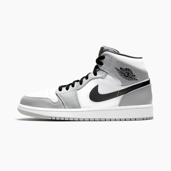 "Air Jordan 1 Mid ""Light Ash/White/Black"""