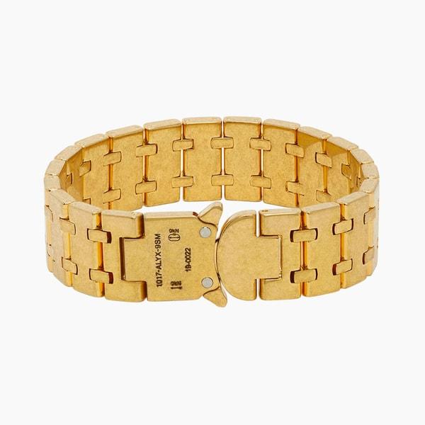 1017 ALYX 9SM Gold Royal Oak Bracelet