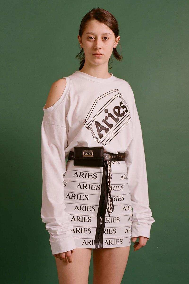 Aries fall winter 2020 fw20 lookbook collection details buy cop purchase release information aries arise sofia prantera