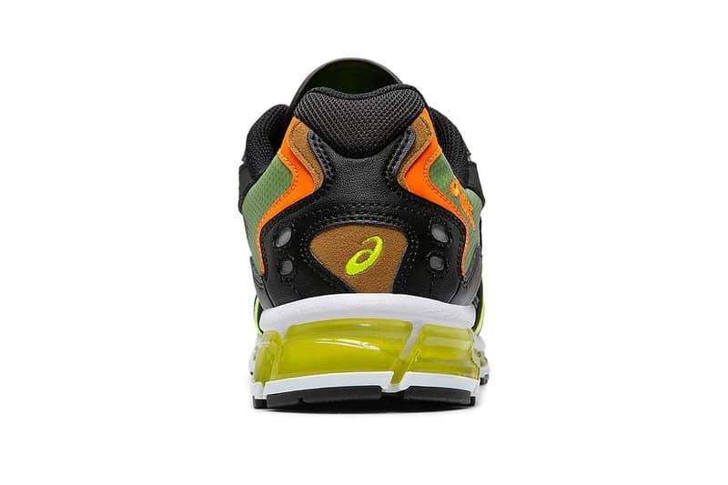 "ASICS GEL-Kayano 5 360 ""Black/Safety Yellow"" Sneaker Release Information Drop Date Japanese Footwear Label GEL-Quantum Cushioning Unit Military Utilitarian Look"