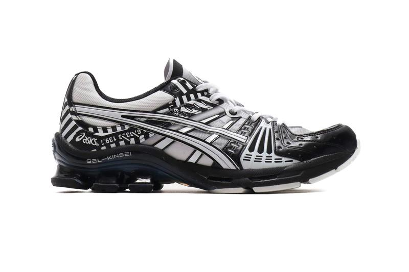 ASICS GEL Kinsei OG White Black footwear shoes sneakers menswear streetwear kicks runners trainers spring 2020 collection 1021a300 100 japanese