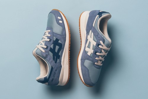 "ASICS GEL-Lyte III ""Smoke Blue"" Offers Oceanic Ornamentation"