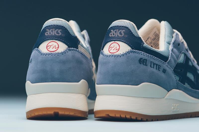 asics gel lyte 3 iii smoke blue grand shark 1191A364 400 release date info photos price