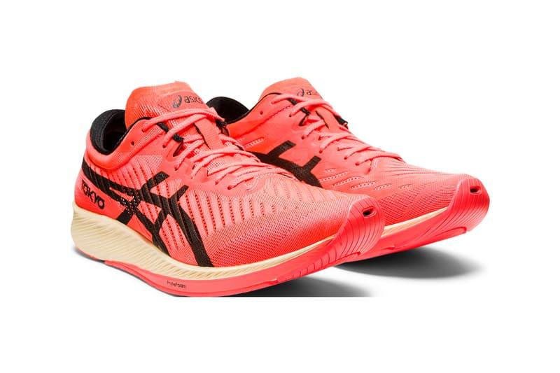 asics innovation technology performance enhancing meta metarise metasprint metaracer long distance running track volleyball shoes sneakers