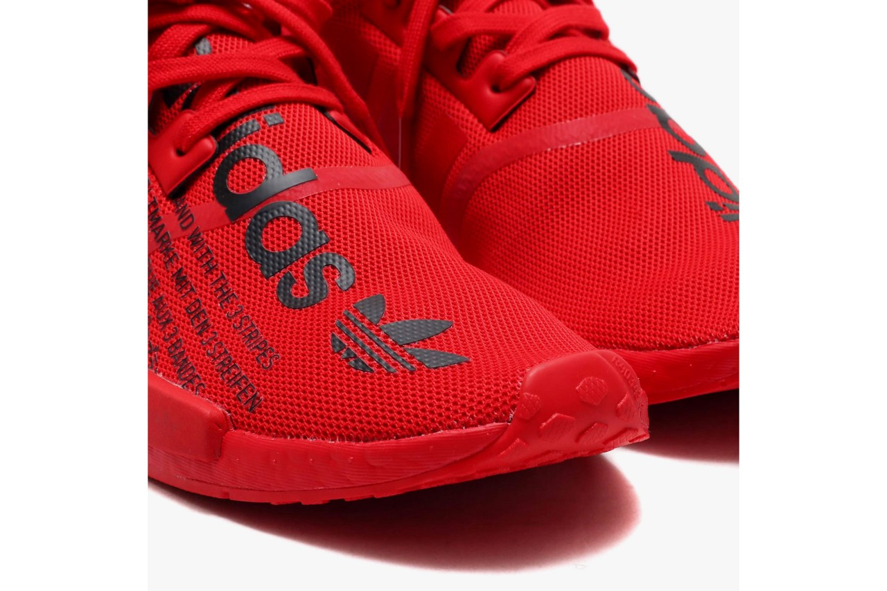 "アトモス x アディダス atmos x adidas Originals から NMD R-1 ""TRIPLE RED"" が発売 atmos adidas originals nmd r1 triple red fx4358 release date info photos price"