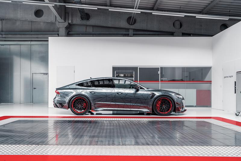 Audi ABT Sportsline RS7-R Limited Special Edition 125 Units Four Door Super Saloon Car Automotive German Tuning Supercar Launch Information First Look V8 740 HP