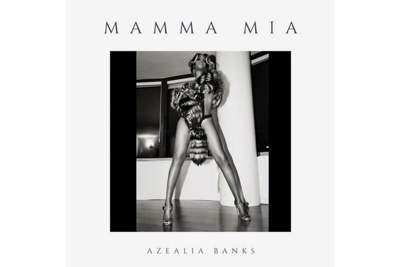 "Azealia Banks Drops ""Canada Goose Freestyle"" & ""Mamma Mia"" listen now soundcloud hip-hop experimental rap"