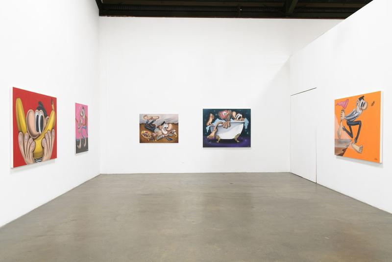 baldur helgason spiritual paintings for emotional people exhibition richard heller gallery