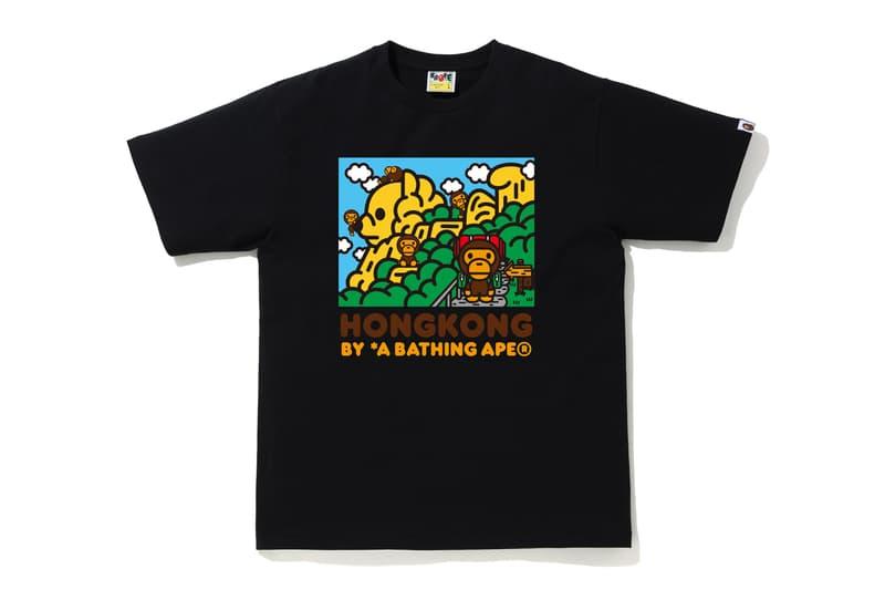 BAPE STORE Hong Kong 14th Anniversary Collection T-shirts Hoodies APE HEAD Camouflage Purple Blue Black Shorts Phone Case Gray Shark