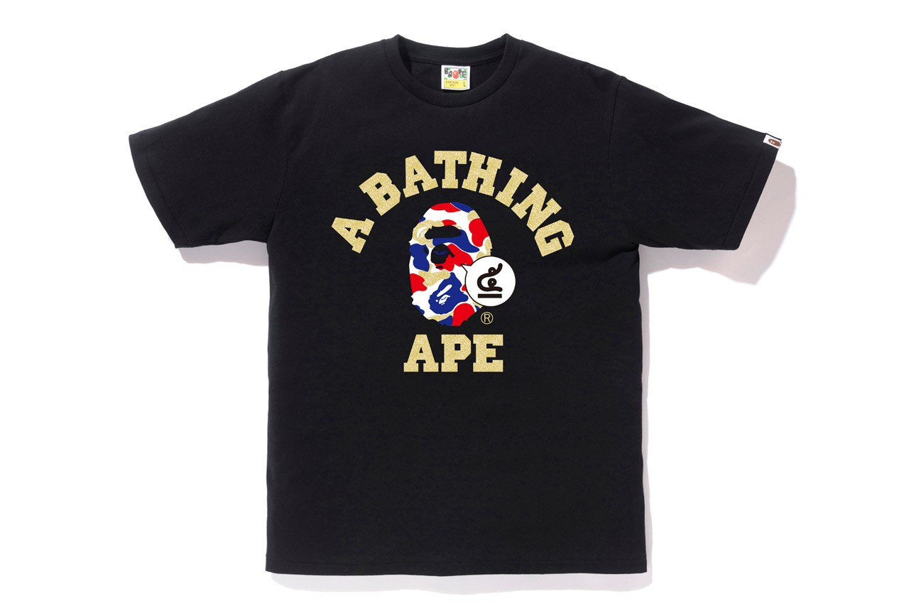 BAPE Thailand Fifth-Anniversary Collection lookbook menswear streetwear exclusives spring summer 2020 capsule camouflage print pattern camo symbol logo