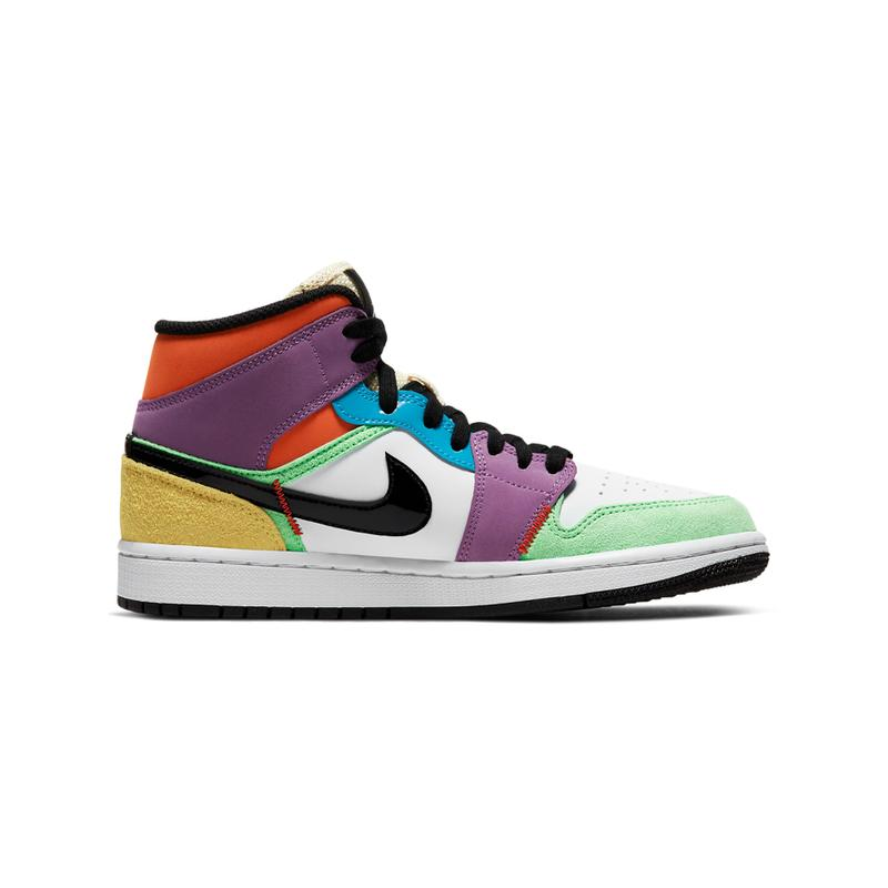 "Air Jordan 1 Mid ""Multicolor"" Release 2020 Where to Buy"