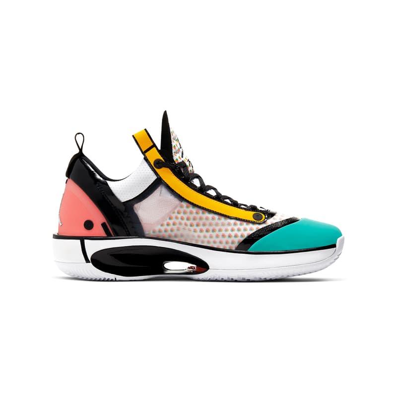 """Air Jordan 34 Low """"Guo Ailun"""" Release 2020 Where to Buy"""