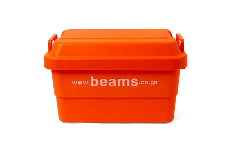 BEAMS officesupplies look Release Info outdoor indoor goods storage chair container folding box shelf stool