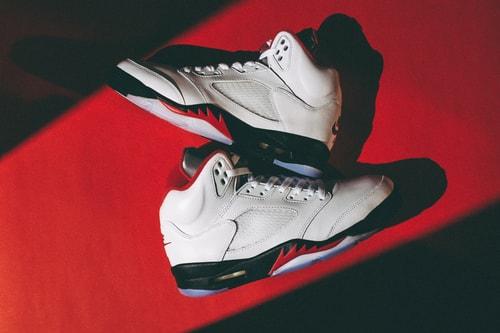 """Air Jordan 5 """"Fire Red"""" Heats up This Week's Best Footwear Drops"""