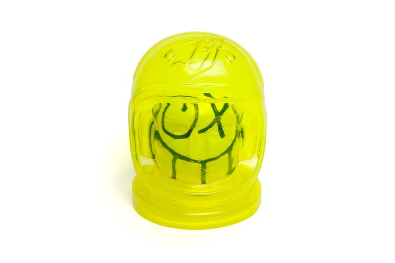 Andre Saraiva Billionaire Boys Club Astronaut Helmet Toy collectible figure mr a balls menswear streetwear spring summer 2020 collection acccessories mr a balls
