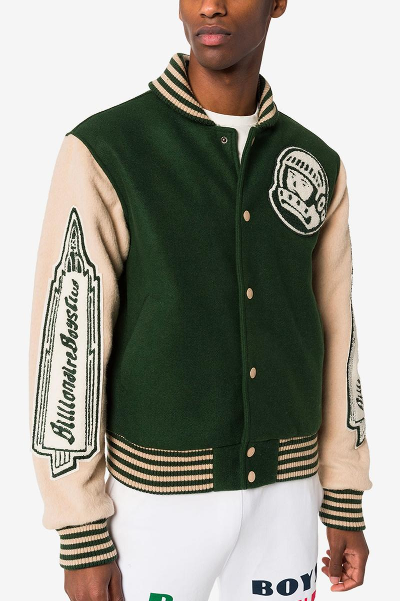 Billionaire Boys Club Astro Varsity Bomber Jacket Browns varsity jackets outerwear BBC Pharrell browns fashion nigo humanmade Icecream