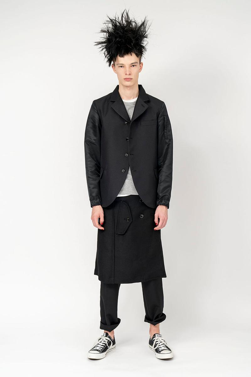 BLACK COMME des GARÇONS Dover Street Market Launch Online Nike Collaboration Blazer High Low Footscape Waffle Racer Mens Womens Ready to Wear Collection Rei Kawakubo