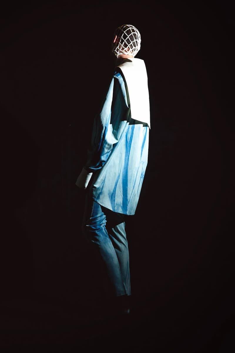 BLINDNESS FW20 Collection Lookbook south korean brand avant-garde woolmark prize LVMH winner shortlist pollution theme military