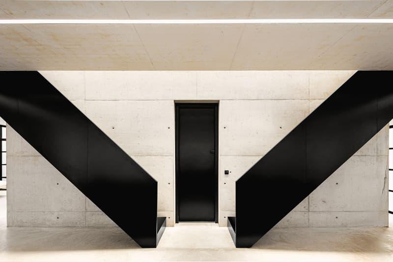 BPN Architects Ghost House for Sale Savills Tadao Ando Reflection Pools Concrete Windows Warwickshire England Moreton Paddox