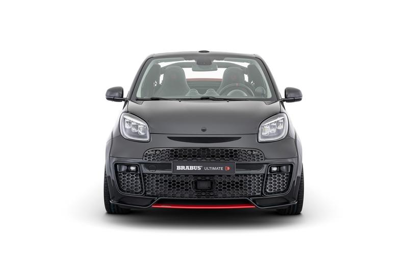 Brabus Ultimate E Smart EQ ForTwo Cabrio WIDESTAR Wide Bodykit 2020 Release Information Electric Cars Small City Car Tuned Performance