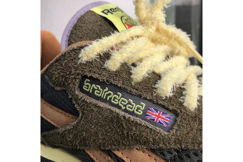 First Look at Brain Dead's Reebok Classic Leather kyle ng suede fuzzy wuzzy first images tease collaboration shoe