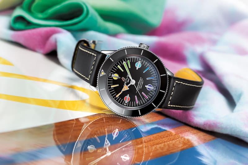 Breitling SuperOcean Heritage '57 Release California Waves Bohemian  surf Californian West Coast Dive Watches UK British Watch Brand
