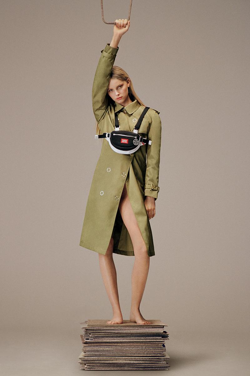 burberry london riccardo tisci sustainable sustainability reburberry labels pistachio colour what does it mean details news update buy cop purchase