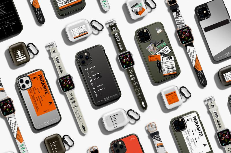 parasite casetify iphone apple watch airpod details collection capsule buy cop purchase bong joon ho south korean oscars academy awards