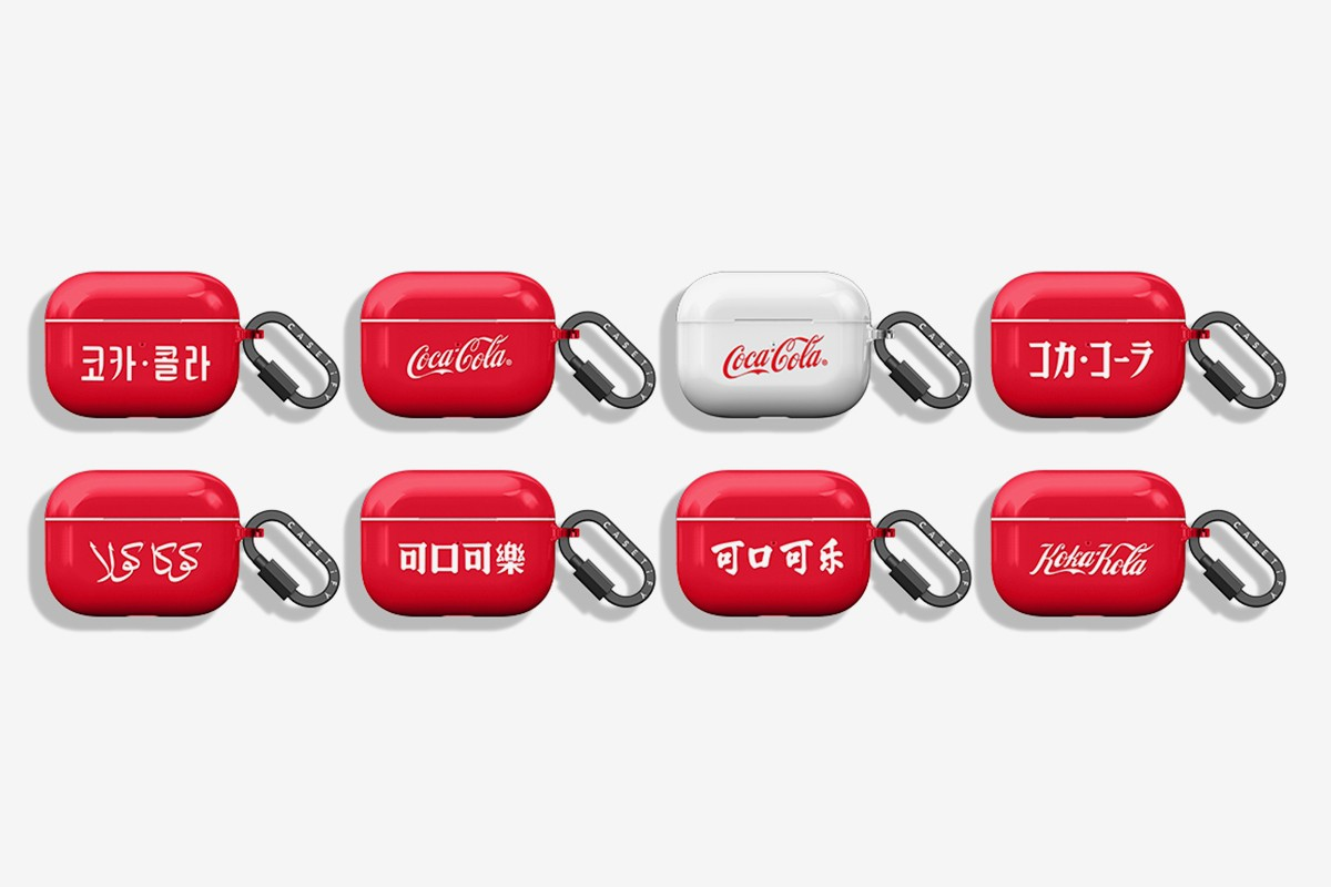 ケースティファイがコカコーラ とのコラボコレクションを発表 CASETiFY The Coca-Cola Collection Release Info Buy Price iphone case airpods pro charger iwatch macbook