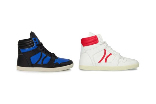 CELINE Crafts Calfskin Leather Mid-Tops Inspired by '90s Break Dancing