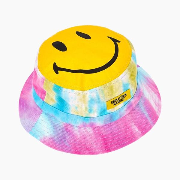 Chinatown Market x Smiley Canvas Bucket Hat