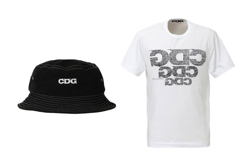 COMME des GARÇONS CDG Spring 2020 Hat, Novesta, Tees shirts varsity jacket logo release date info buy april 8 cdgcdgcdg