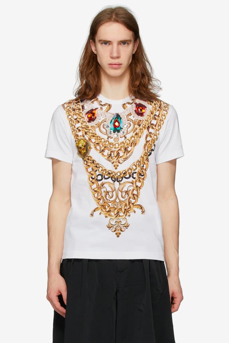 Comme des Garçons Homme Plus Chain Print T-Shirt Release Info Buy Price A B C