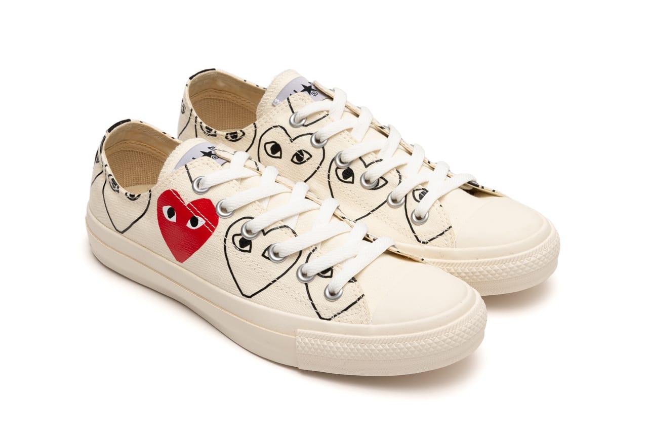 PLAY x Converse Chuck 70 Heart Print
