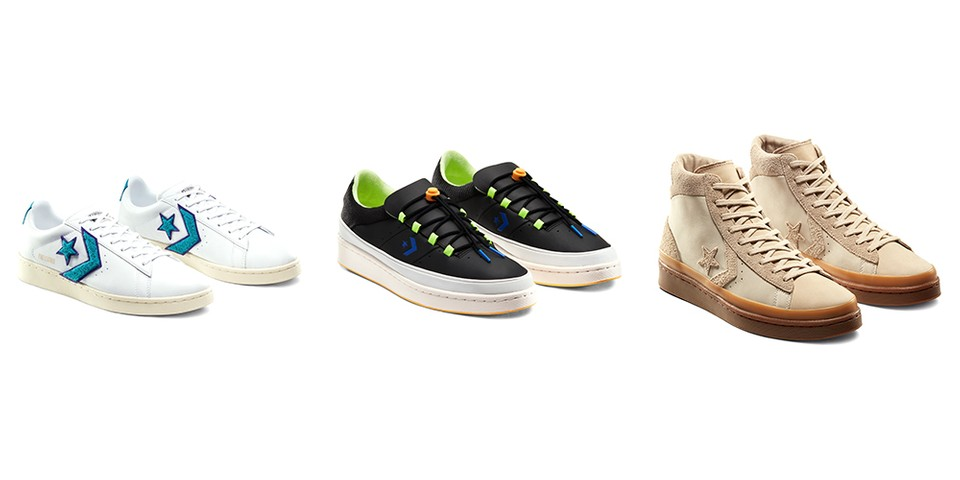 """Converse Revisits the '80s, '90s & '00s in Pro Leather """"Through the Decades"""" Pack"""