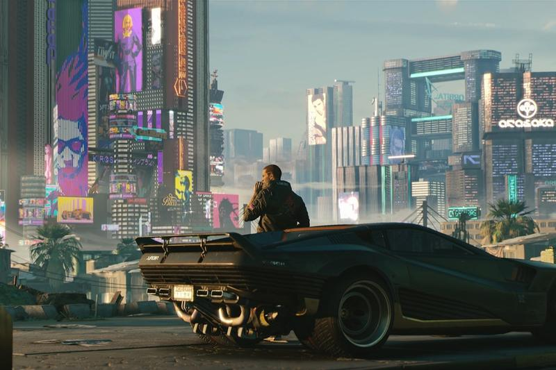 cd projekt red cyberpunk 2077 question answer session gameplay video footage snippet